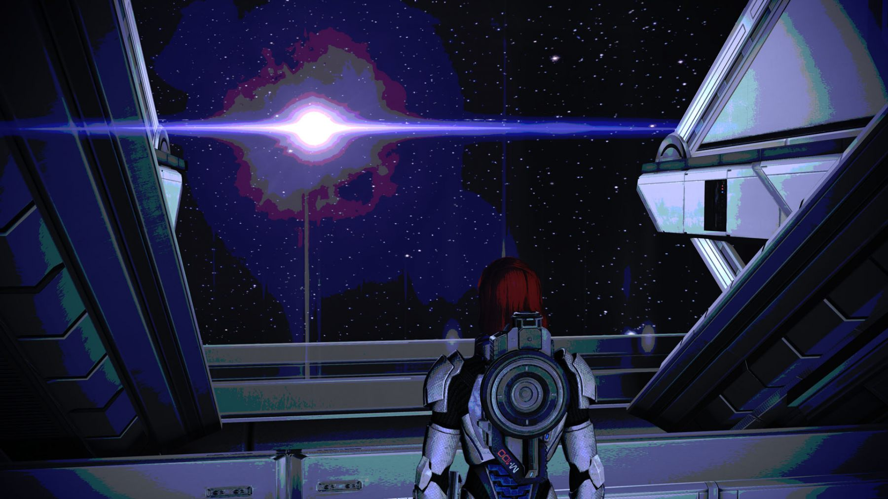 Mass-Effect-2-Filter-Looking-out-to-the-Stars