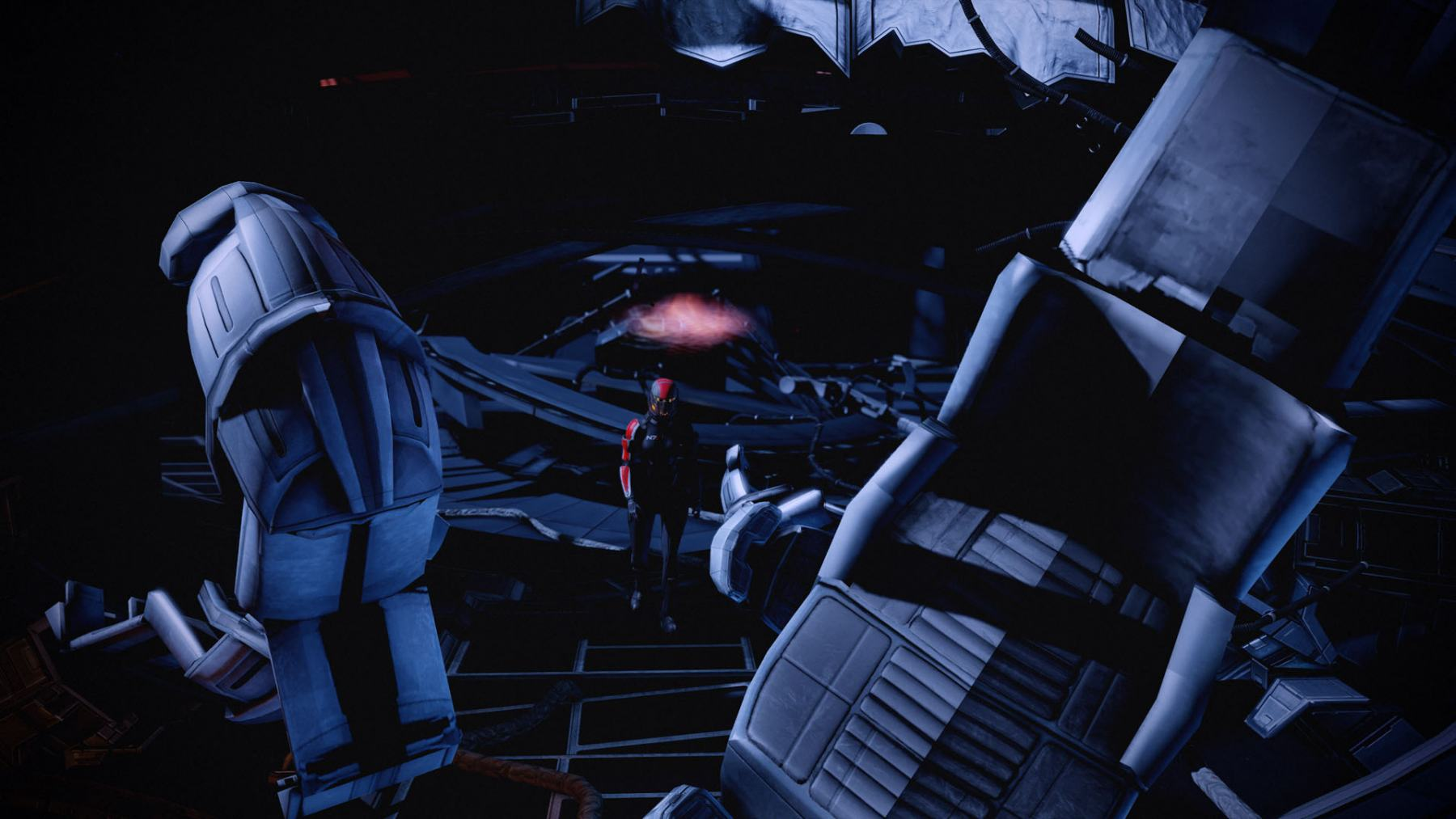 Mass-Effect-2-Looking-at-the-Wreckage-of-SR1