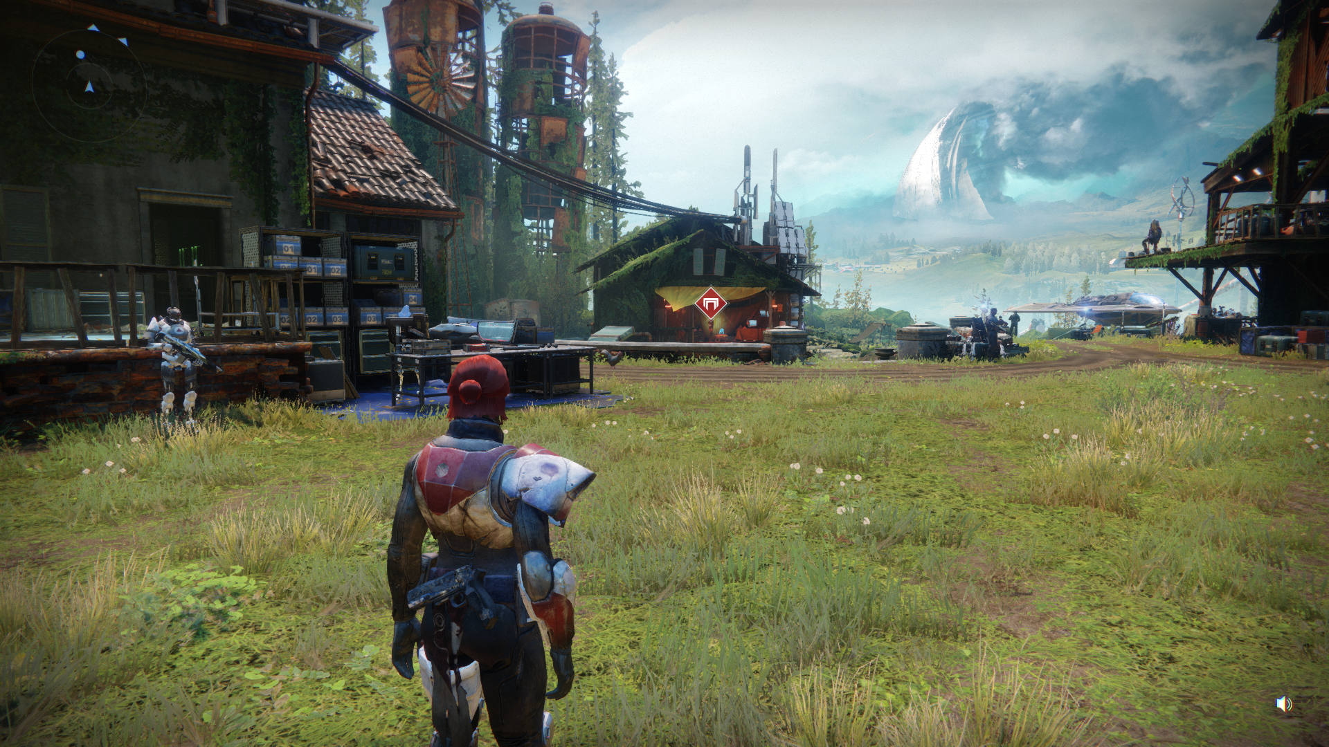 Destiny 2 Wide Shot of Farm